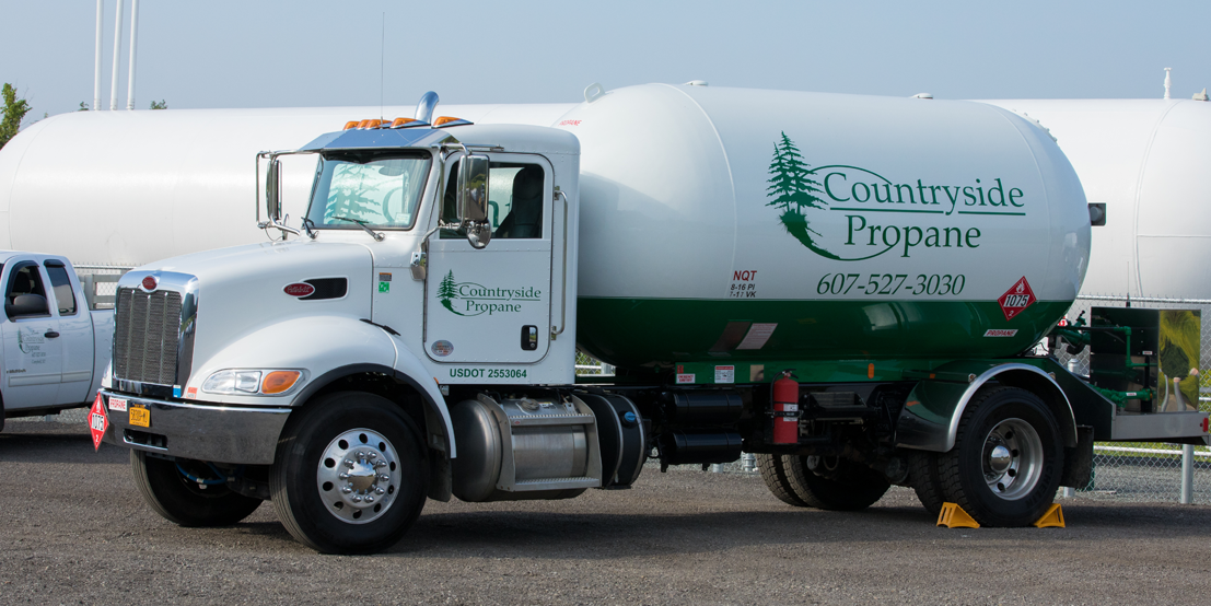 Countryside Propane Delivery Truck
