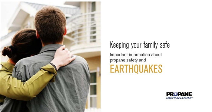 Earthquakes Propane Safety Brochure Thumbnail