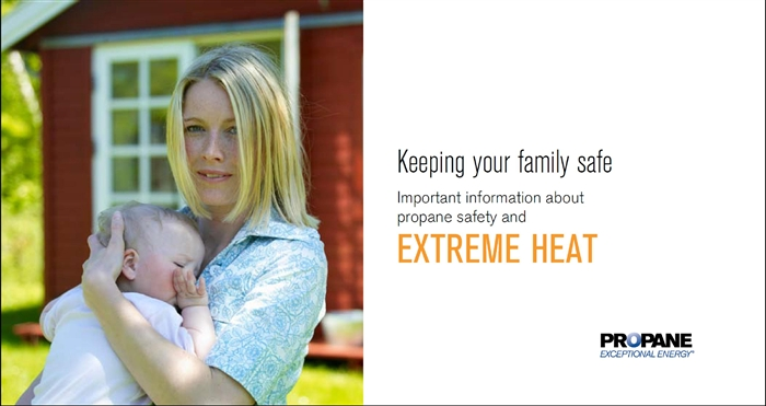Extreme Heat Propane Safety Brochure Thumbnail