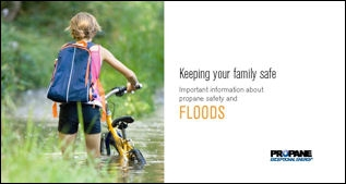 Floods Propane Safety Brochure Thumbnail