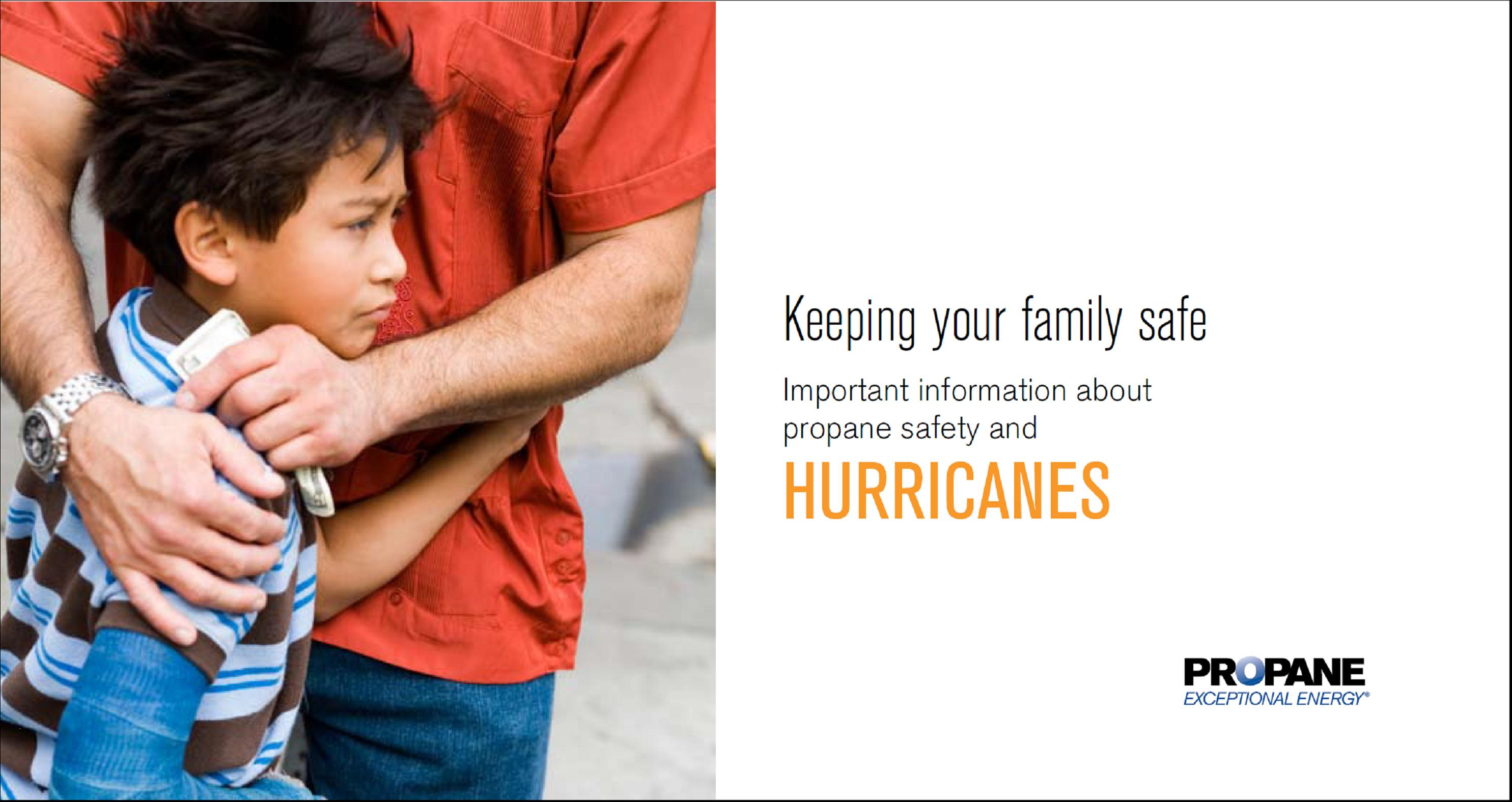 Hurricanes Propane Safety Brochure Thumbnail