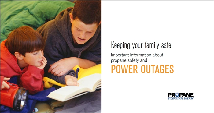 Power Outages Safety Brochure Thumbnail