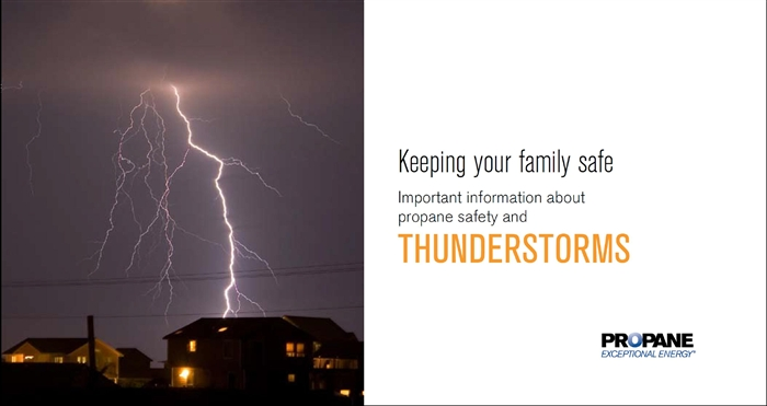 Thunderstorms Propane Safety Brochure Thumbnail