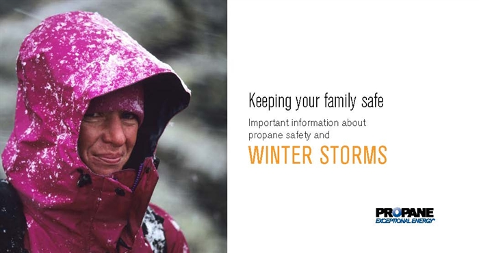 Winter Storms Propane Safety Brochure Thumbail