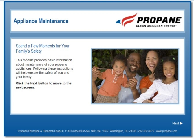 Appliance Maintenance Safety Video Thumbnail
