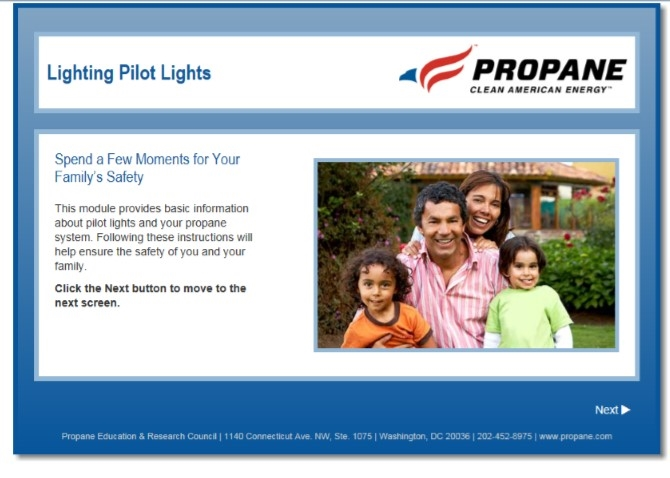 Lighting Pilot Lights Safety Video Thumbnail