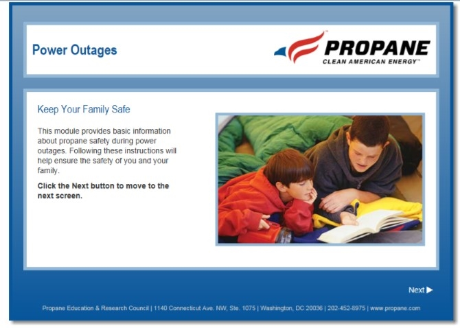 Power Outages Safety Video Thumbnail