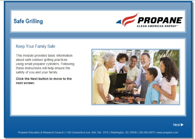 Safe Propane Grilling Video Thumbail