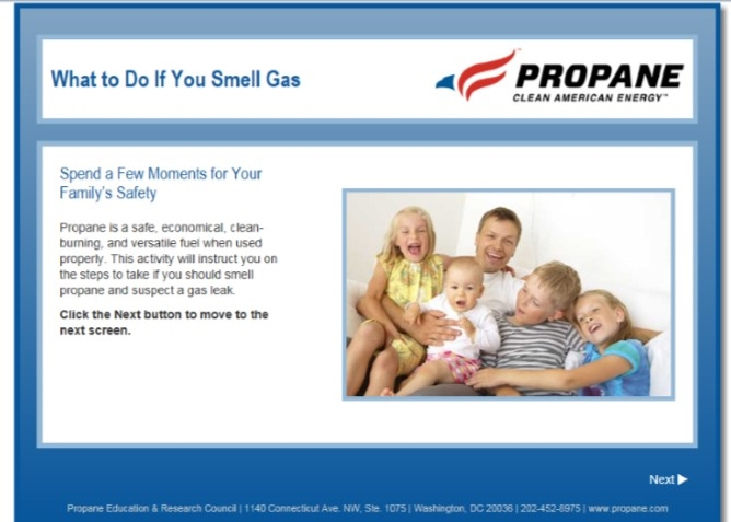 What to Do if You Smell Gas Safety Video Thumbnail