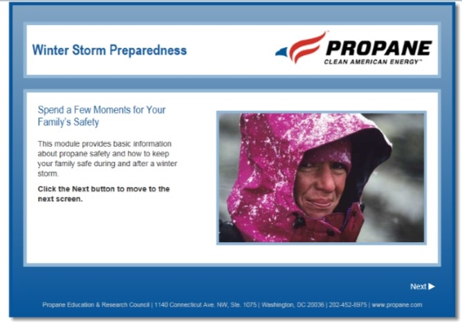Winter Storm Propane Safety Video Thumbnail